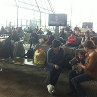 Photo taken at Gate C89 by Tony D. on 3/21/2012