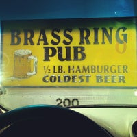 Photo taken at Brass Ring Pub by Dennis J. on 8/20/2012