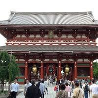 Photo taken at Hozomon Gate by Solomon F. on 6/22/2012