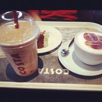 Photo taken at Costa Coffee by Ted K. on 4/21/2012