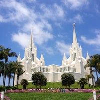 Photo taken at San Diego California Temple by Bil B. on 6/10/2012