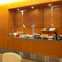 Photo taken at Delta Sky Club by Zahlouth J. on 3/16/2012