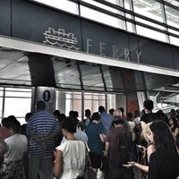 Photo taken at Staten Island Ferry - St. George Terminal by Alvin B. on 7/19/2012