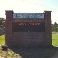 Photo taken at Louisa County High School by Vanessa H. on 5/20/2012