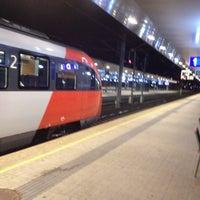 Photo taken at Klagenfurt Hauptbahnhof by Arno P. on 9/6/2012