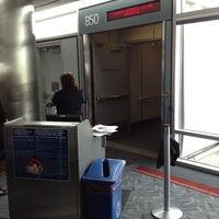 Photo taken at Gate B50 by John L. on 3/15/2012