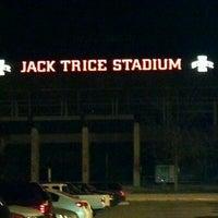 Photo taken at Jack Trice Stadium by Jeff L. on 4/12/2012