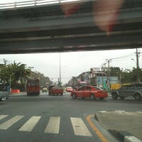 Photo taken at Tha Phra Intersection by Muay M. on 6/1/2012