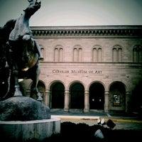 Photo taken at Chrysler Museum of Art by Gregg D. on 3/16/2012