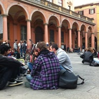 Photo taken at Piazza Verdi by Roberto P. on 4/24/2012