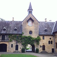 Photo taken at Abbaye Notre-Dame d'Orval by Mike F. on 6/9/2012