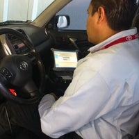 Photo taken at Toyota by juancapitan on 6/12/2012