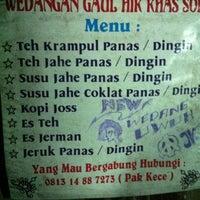 Photo taken at angkringan Pak Kece' by Hary K. on 2/6/2012