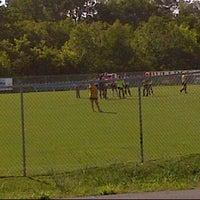 Photo taken at Smyrna High Soccer Field by Melissa H. on 8/9/2012
