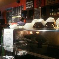 Photo taken at Bourbon Coffee DC by Kendal A. on 9/12/2012