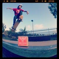 Photo taken at charles l. lewis, III Memorial Skate Park by Gabriel G. on 5/20/2012