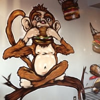 Photo taken at Monkey Burger by Brian J. on 8/20/2012