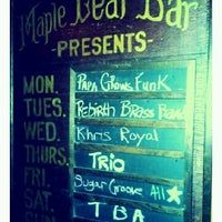 Photo taken at Maple Leaf Bar by Alex F. on 4/4/2012