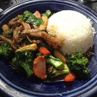 Photo taken at Amarin Thai Cuisine by Yoko R. on 3/21/2012