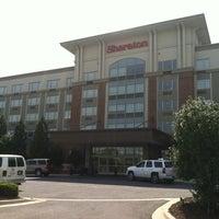 Photo taken at Sheraton Hotel Rockville by Trish H. on 5/6/2012