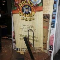 Photo taken at Dick's Wings & Grill by Krysten J. on 5/1/2012