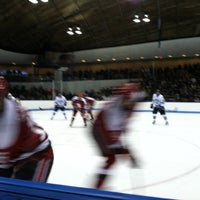 Photo taken at David S. Ingalls Rink by Katrina D. on 2/4/2012