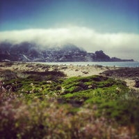 Photo taken at Pacifica State Beach by jaireh t. on 5/12/2012