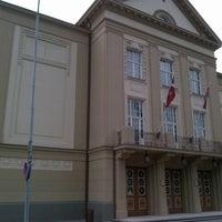 Photo taken at Liepājas teātris by Deniss J. on 7/19/2012