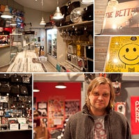 Photo taken at Baza Record Shop by The Village Петербург on 2/17/2012