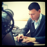 Photo taken at Дворец Водных Видов Спорта by Ilya N. on 9/13/2012