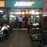 Photo taken at Subway by Brijesh K. on 7/7/2012