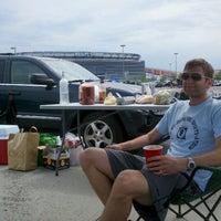 Photo taken at Meadowlands Parking Lot by Matt B. on 6/9/2012