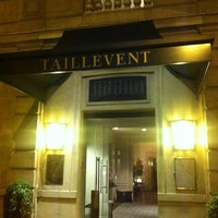 Photo taken at Le Taillevent by Alexander K. on 6/29/2012