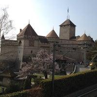 Photo taken at Château de Chillon by Chiranuj B. on 3/29/2012