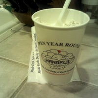 Photo taken at Handel's Ice Cream by Kyle D. on 3/7/2012