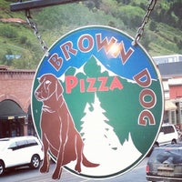 Photo taken at Brown Dog Pizza by Derek M. on 8/29/2012