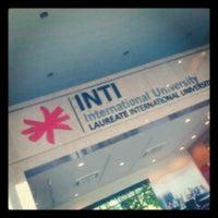 Photo taken at INTI International University by Clara N. on 8/23/2012