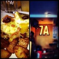 Photo taken at 7A Cafe by Jeremy B. on 7/29/2012
