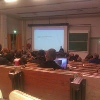 Photo taken at ULB - Auditoire Lameere by Julien P. on 2/4/2012