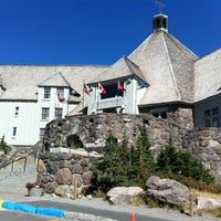 Photo taken at Timberline Lodge by Dianna W. on 9/6/2012