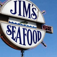 Photo taken at Jims Seafood on the River by Jon T. on 5/11/2012