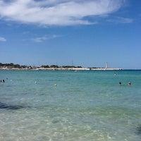 Photo taken at Spiaggia San Vito Lo Capo by Maurizio S. on 8/29/2012