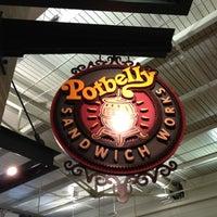 Photo taken at Potbelly Sandwich Shop by Casey G. on 6/2/2012