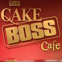 Photo taken at TLC Cake Boss Cafe by MISSLISA on 9/7/2012