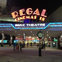 Снимок сделан в Regal Cinemas New Roc 18 IMAX & RPX пользователем Peoples T. 3/19/2012