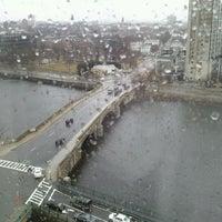 Photo taken at DoubleTree Suites by Hilton Hotel Boston - Cambridge by Ben M. on 3/1/2012