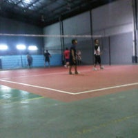 Photo taken at UMW Volleyball Court by Adha M. on 9/6/2012