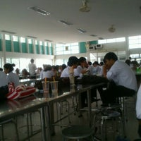 Photo taken at KU Cafeteria 1 by Surasak K. on 6/12/2012