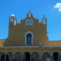 Photo taken at Izamal by Aby L. on 9/9/2012