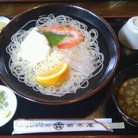 Photo taken at 手打そば 栃木庵 by 渡部 華. on 8/14/2012